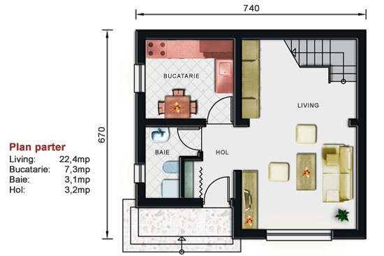 Planuri case mici