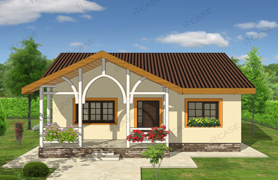 Model de casa parter 2 019 for Modele de case