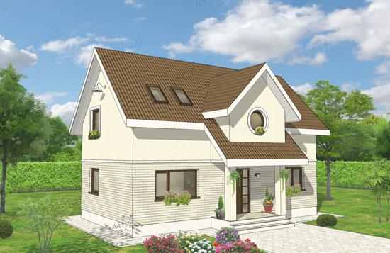Casa mansardata, #2-017