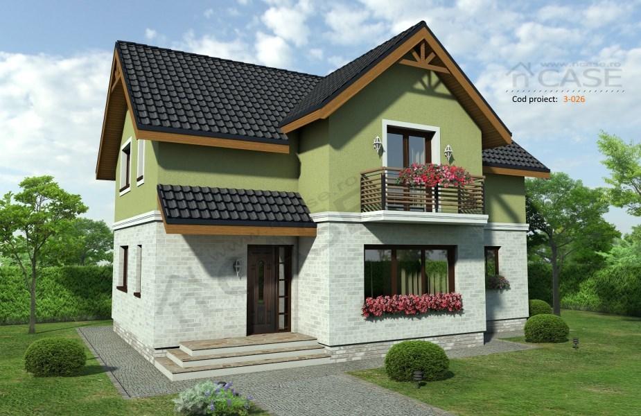 Casa mansardata #3-026