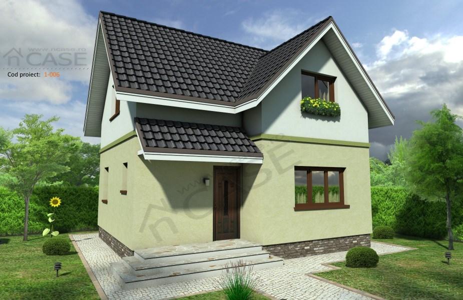 Vila mini mansarda #1-006