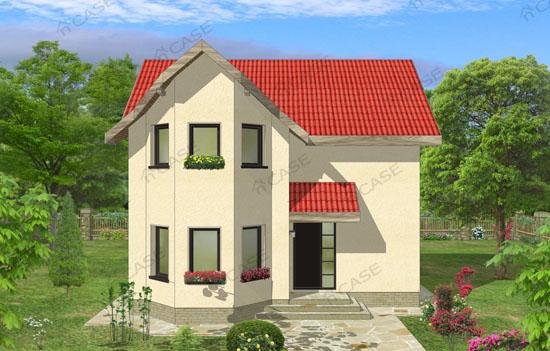 Vila cu mansarda #2-007