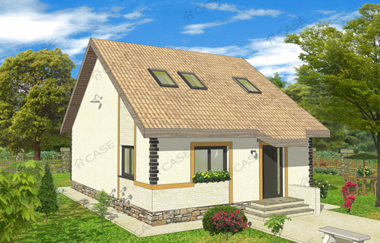 Casa mansardata #2-012