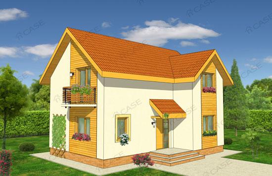 Casa mansardata 2-015