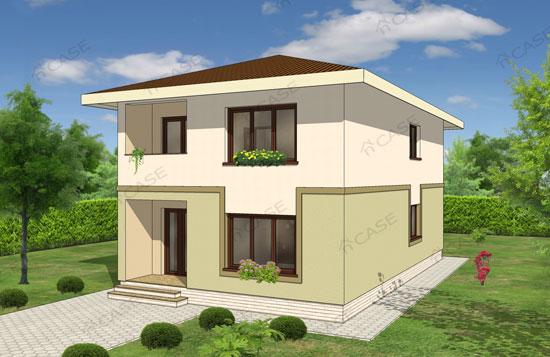 Casa 2 apartamente #3-015