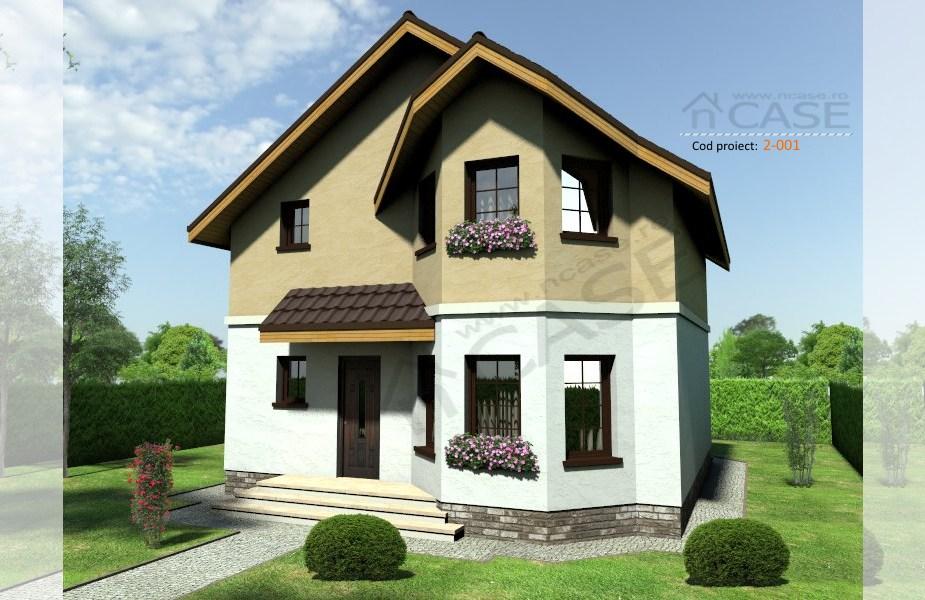 Casa mica mansarda #2-001