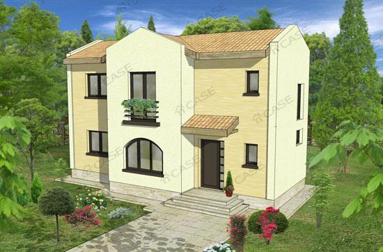 Casa cu etaj #2-010