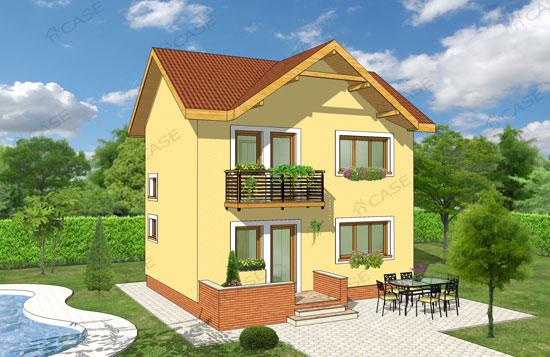 Casa mica cu etaj #1-005